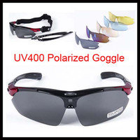 Wholesale Outdoor Sports Glasses Lenses Sunglasses UV400 Polarized Goggle for Cycling