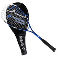 190 Gram & Above squash racket - FCSQ Squash racket racket case and ball as gifts Blue can stringed up to lbs Aluminm composite material Brand high quality