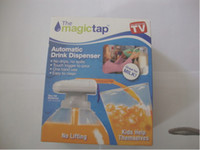 Wholesale The Magic Tap Automatic Drink Dispenser Kids Juice Pour Magic Tap the spill proof automatic drink dispenser
