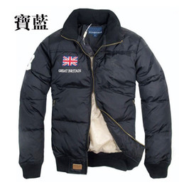 Wholesale NEW winter polo men s down jacket outdoor winter coat flag standard POLO down jacket
