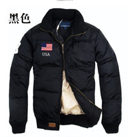 Wholesale NEW winter men s down jacket outdoor winter coat flag standard down jacket