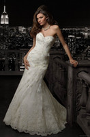 Wholesale Hot Maternity Bridal Gown Wedding Dresses Sweetheart Applique Lace Ankle Length Handmade Flower