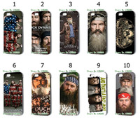 Wholesale 2013 hot The latest design Duck Dynasty desgins case cover for iphone s th