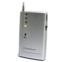 Wholesale earphone BUG RF SIGNAL DETECTOR WIRELESS CAMERA FINDER RF Bug Detector homealarm
