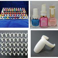 Wholesale Polish UV Gel Color Pops Display Nail Art Ring Style Nail Tips