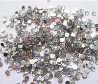 Wholesale Clear Round mm Rhinestones Decoration for Nail Art Tips