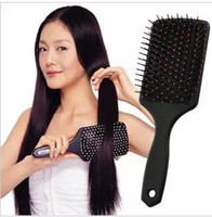 Wholesale Comfortable Health Wide Tine Massage The Scalp Hair Brush Makeup Airbag Comb New Airbag Flat Health Care Comb Massager