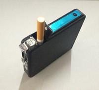 Wholesale Aier Kai automatic cigarette case with lighter