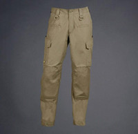 Wholesale Hunting Tactical Force Cargo Utilities SWAT Pants Combat Multi Pockets Trousers Tan