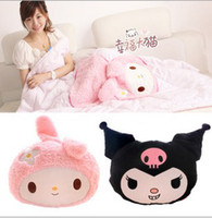 air demon - My melody little demon of kuromi high quality cotton cotton air conditioning cushion is pillow dual
