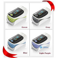 Wholesale Fingertip Pulse Oximeter With OLED Screen Display CE approved Direction Change Protect Case As Gift