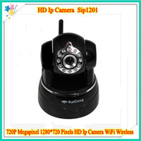 Wholesale New Arrival Wireless Megapixel IP Camera WiFi Cloud Platform KaiCong Sip1201 with by dhl freeshipping