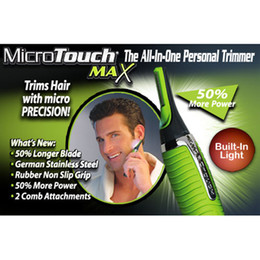 Wholesale Micro Touch Magic Max Micro touch Magic Hair Trimmer New With Battery Men Shaving amp Hair Removal Epilator