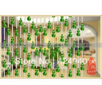 Wholesale year new product Grass green gourd crystal bead curtain