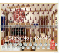 Wholesale In year product the purple bottle gourd crystal bead curtain