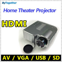 Wholesale Cheapest mini LED lamp digital multimedia Video Game Projector with HDMI HDMI USB SD VGA AV interface for phone MHL home theater