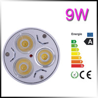 12v 9W White Dimmable 3x3W GU10 9W LED Spot Light Lamp Bulb day warm Cool White enery saving led bulb (110v 220v)
