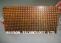Wholesale Waterproof P10 Yellow color outdoor led module with Epistar LED Chips pce per carton by