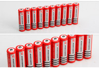 Cheap Send free fedex - 200 PCS original 18650 strong light flashlight rechargeable lithium battery 3800 mah 3.7 V lithium ion