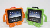 Wholesale Latest EVA Foam Material Shock Proof Handle Holder Stand Case Cover For iPad Multifunction Handheld Protective Case