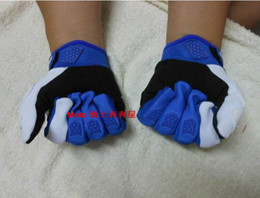 2016 New sky knight 360 Flight gloves Motorcycle racing gloves motorbike gloves of Nylon and have black red blue color size M L XL