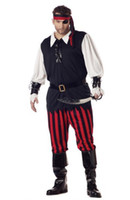 Women People Christmas ohlees custom made costumes Cutthroat Pirate Adult Plus Costume Halloween costume dress Christmas for sale free shipping
