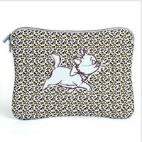 Wholesale 1 piece Happy Cat Neoprene Laptop Sleeve Case Protective Bag for quot Notebook Macbook Ultrabook