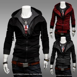Free shipping -NEW Assassin's Creed Desmond Style Velour Hoodie D1254