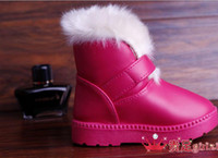 Winter   2013 winter children cotton shoes children's short boots boots boots child boots shoes boots' shoes shoes of the girls