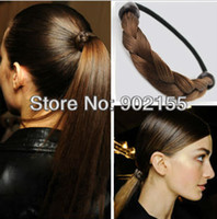 Wholesale Latest fashion design handmade high quality weaved plaits hair accessories