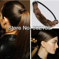 Fashion Hairwear Yes Latest fashion design handmade high quality weaved plaits hair accessories