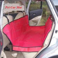 Wholesale LLFA2596 Red Waterproof Oxford Seat Pet Hammock Car Seat Cover Mat Dog Blanket x140cm