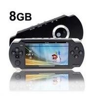 achat en gros de jeux mp3 gratuits-Haute qualité 8 Go 4.3 pouces Video Game 1.3M Caméra MP3 MP4 MP5 Console Player + 3000 jeux gratuits + sortie TV