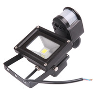 PIR Motion Sensor Mur de sécurité Pure White LED Flood Light Lampe 10W L1125