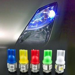 Compra Online Luces del coche rojo-¡200PCS! 12V 5050 5 SMD LED T10 5SMD 168 194 Luz de bulbo del tablero de instrumentos interior lateral del lado de la señal de giro del coche ¡Bombilla del trabajo de 5 LED! ¡Conecta y reproduce!
