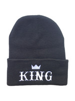 Wholesale Black King BeanieTruk Fit Mix Order Last Kings Knitted Beanies Strap Back Adjustable Fitted Hats Ask me for photo album