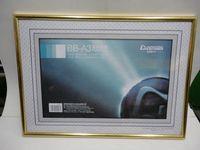 gold picture frame - Testificate a4 a3 senior picture frame plastic photo frame gold silver frame stationery
