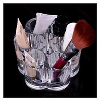Wholesale Acrylic Brush Cosmetic Storage Organizer Lipsticks Stand Holder Case Makeup Display Rack Box