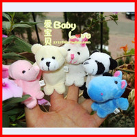 White baby toy stores - Sunshine store A2001 g Cartoon Animal Finger Puppet finger doll baby dolls Baby Toys Animal doll talk prop CPAM