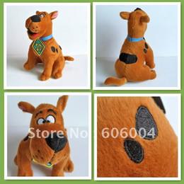 Свободный материал собаки Онлайн-Бесплатная доставка Скуби Ду собаки, плюшевые игрушки куклы Рис. оптом и в розницу