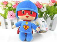 Wholesale High quality quot POCOYO BANDAI PLUSH SOFT FIGURE Toy Super Pocoyo