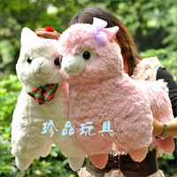 Teddy Bear alpaca bear - Japanese Arpakasso amuse Genuine plush alpaca with tags types to choose cm high