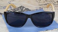 Wholesale 2013 Vintage Mens Sport Sunglasses Designer Wood Sun Glasses Round Frame Cool Black Eyewear Colors
