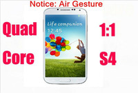 Wholesale mtk quad core s4 i9500 phone air gesture android g GB Ram GB Rom MP Camera GPS Play Store Positive Feedback