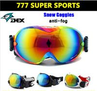 Wholesale Big Spherical Polarized Snowboard Goggles Skiing Eyewaer Gafas Motorcycle Ski Mask Snowmobile Steampunk Snow Sport Gear