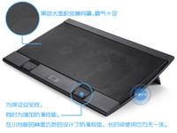 Cheap Double Fans Notebook Computer Best Aluminum & Plastic  Radiator Laptop