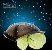 Vente en gros - 10pcs nouveaux [best-seller Cloud B au monde] étoiles magiques dorment petite tortue Star Night Lumière