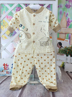 Unisex Spring / Autumn Half Free ShippingBaby underwear baby clothes Dr. Tang 1207 # bamboo fiber dot collar piece wholesale priced 4512