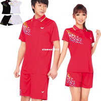 Wholesale Badminton set tennis lovers sports casual wear white three color