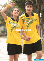 Wholesale 2013 badminton fashion lovers casual wear casual set series